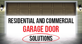call us at garage door solutions